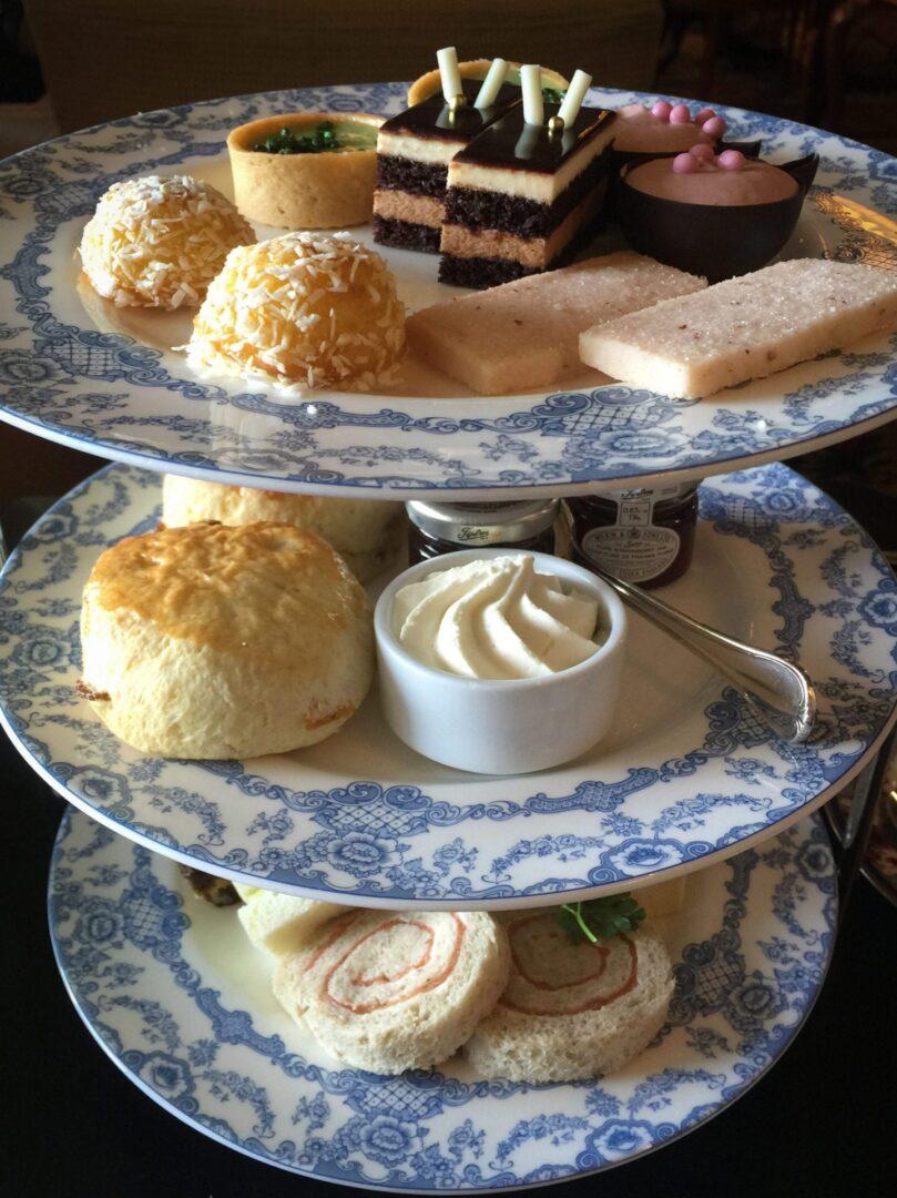 Tea at the Empress Hotel - Victoria