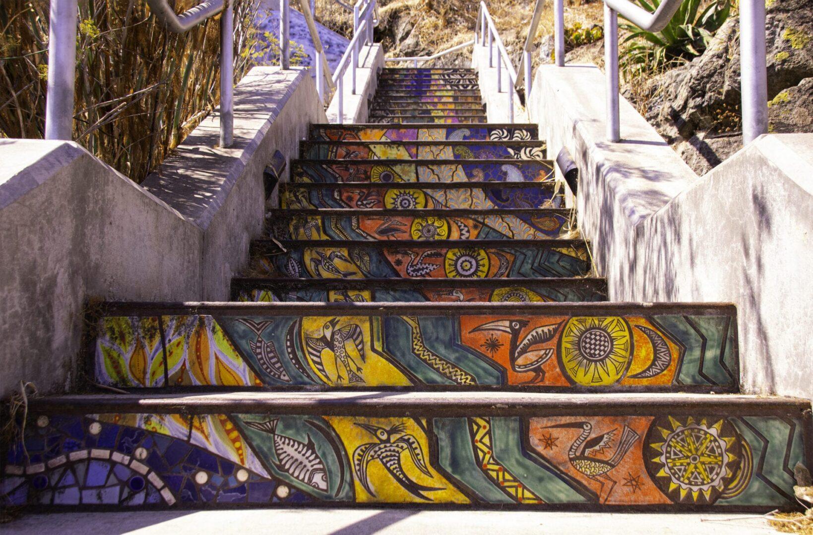 Flights of Fancy - Artful Stairs