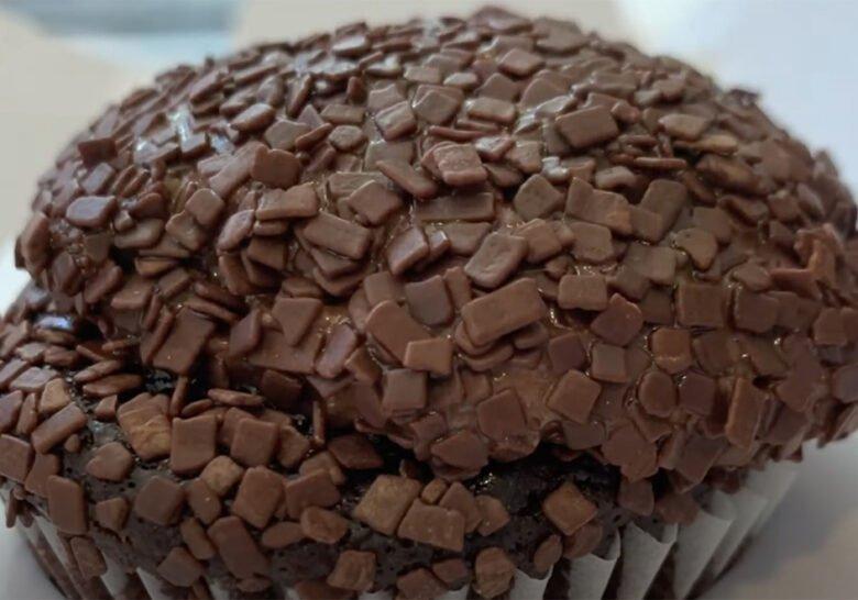 Chocolate on Chocolate Cupcake